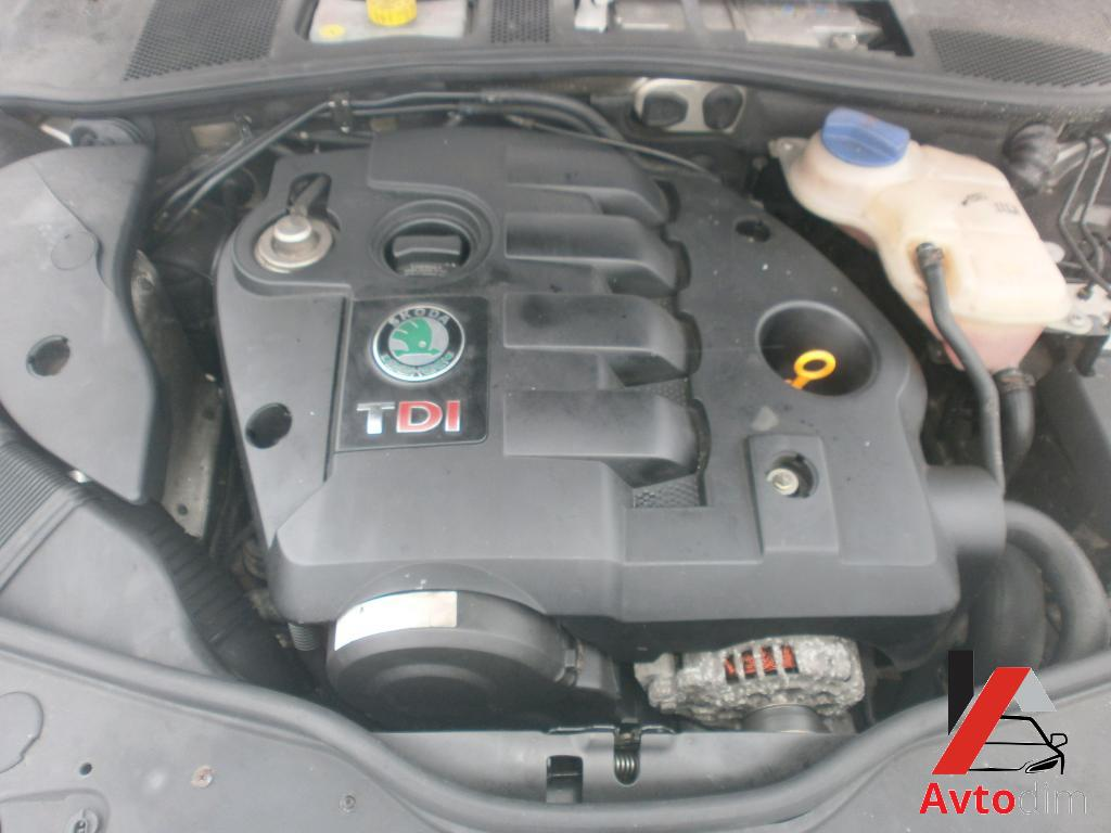 Skoda Superb engine 1.9TDI